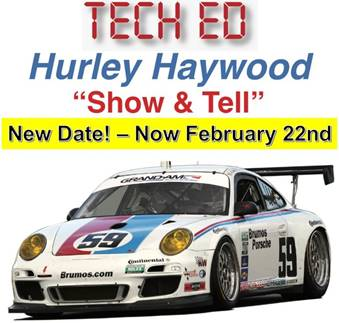 Tech Ed - Hurley Heywood Show & Tell (PNW Region) @ Chris's German Auto Service